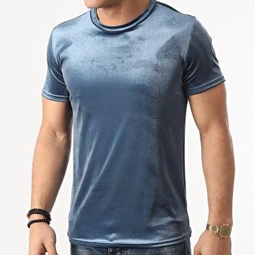 Frilivin - Tee Shirt BM1250 Bleu