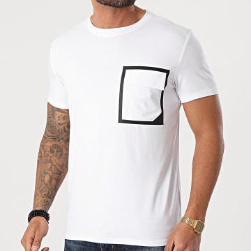 Frilivin - Tee Shirt Poche BM1223 Blanc