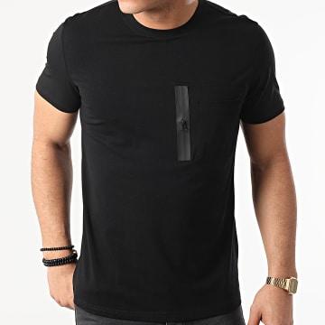 Frilivin - Tee Shirt Poche BM1222 Noir