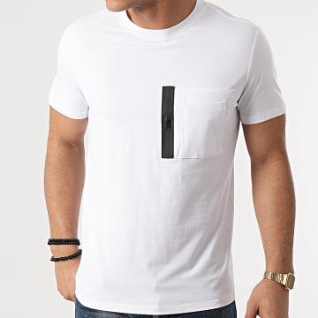 Frilivin - Tee Shirt Poche BM1222 Blanc