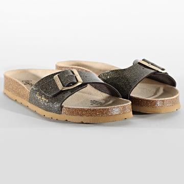 Pepe Jeans - Sandales Femme Oban Ori PLS90483 Gold