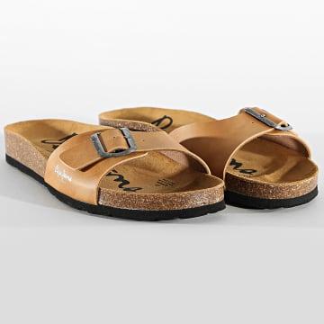 Pepe Jeans - Sandales Bio Basic PMS90082 Camel