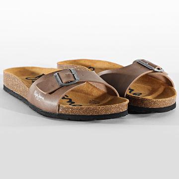 Pepe Jeans - Sandales Bio Basic PMS90082 Taupe