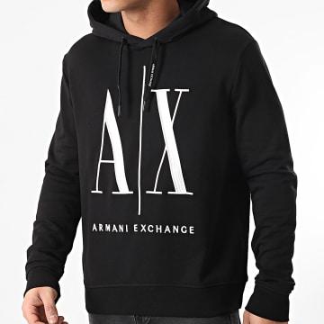Armani Exchange - Sweat Capuche 8NZMPC-ZJ1ZZ Noir