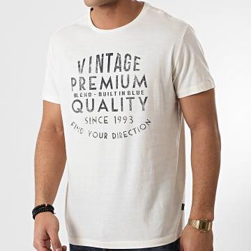 Blend - Tee Shirt 20712064 Blanc