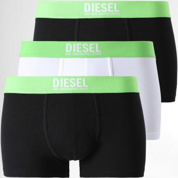 Diesel - Lot De 3 Boxers Damien 00ST3V-0DDAM Noir Blanc