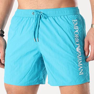 Emporio Armani - Short De Bain 211740-1P422 Bleu Turquoise