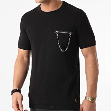 Ikao - Tee Shirt Poche LL320 Noir