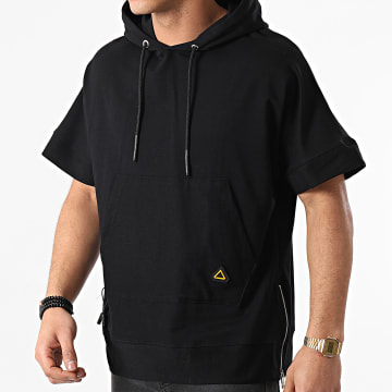 Ikao - Tee Shirt Capuche LL350 Noir