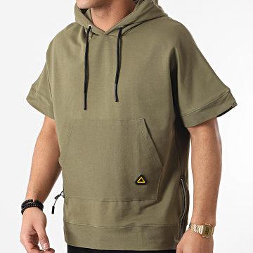 Ikao - Tee Shirt Capuche LL350 Vert Kaki