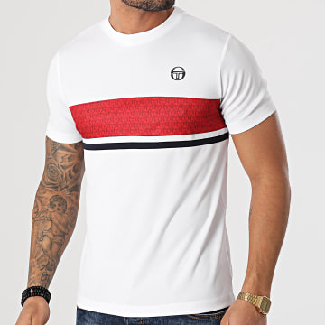 Sergio Tacchini - Tee Shirt Ansley 39090 Blanc