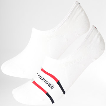 Tommy Hilfiger - Paire De Chaussettes Invisibles 100002213 Blanc