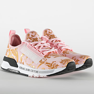 Versace Jeans Couture - Baskets Femme Linea Fondo Aerodynamic E0VWASA5 Pink Renaissance