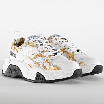 Versace Jeans Couture - Baskets Femme Linea Fondo Fire E0VWASF3 White Renaissance