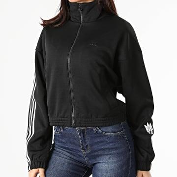 Adidas Originals - Veste Zippée Femme Track GN2875 Noir
