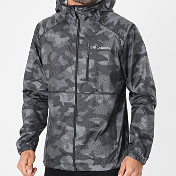 Columbia - Coupe-Vent Capuche Flash Forward 1606803 Gris Camouflage