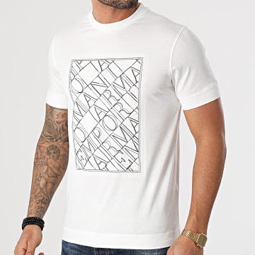 Emporio Armani - Tee Shirt 3K1TM1-1JDXZ Blanc Cassé