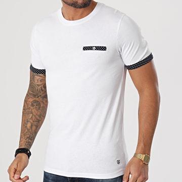 Jack And Jones - Tee Shirt Poche Bolton Blanc