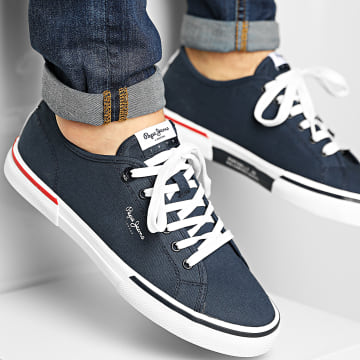 Pepe Jeans - Baskets Kenton Smart PMS30700 Navy