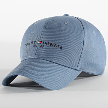 Tommy Hilfiger - Casquette Established 7352 Bleu Gris