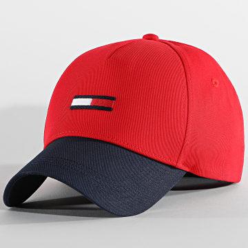 Tommy Jeans - Casquette Flag AM0AM07170 Rouge Bleu Marine
