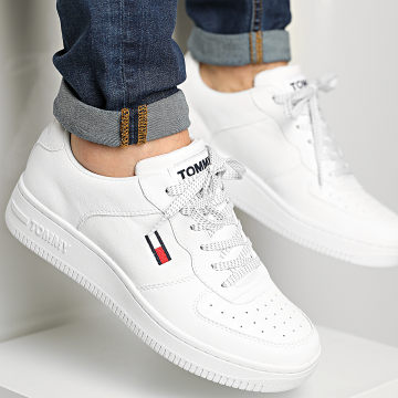Tommy Jeans - Baskets Cupsole Flash It 0697 White