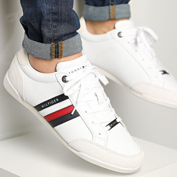 Tommy Hilfiger - Baskets Corporate Material Mix Cupsole 3429 White