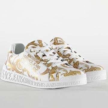 Versace Jeans Couture - Baskets Femme Linea Fondo Penny E0VWASP7 White Renaissance