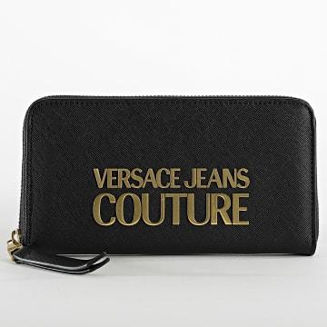 Versace Jeans Couture - Portefeuille Femme E3VWAPL Noir Doré