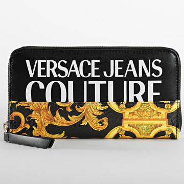 Versace Jeans Couture - Portefeuille Femme E3VWAPG Noir Renaissance