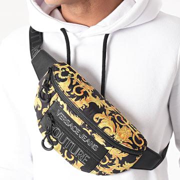 Versace Jeans Couture - Sac Banane Linea Macrologo E1YWABA2 Noir Renaissance