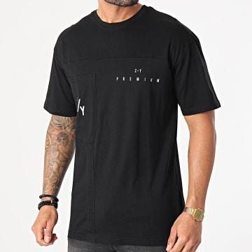 2Y Premium - Tee Shirt Poche TS-6016 Noir