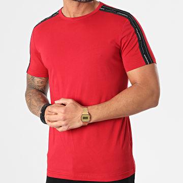 Antony Morato - Tee Shirt A Bandes MMKS01850 Rouge