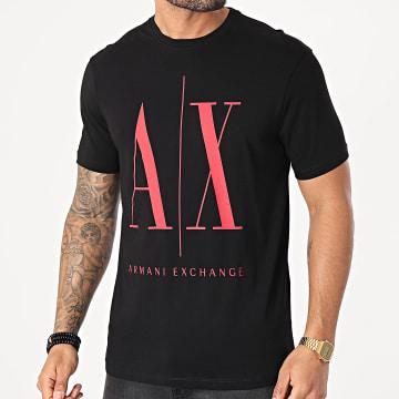Armani Exchange - Tee Shirt 8NZTPA-ZJH4Z Noir Rouge