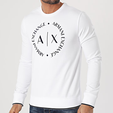 Armani Exchange - Sweat Crewneck 8NZM87-Z9N1Z Blanc