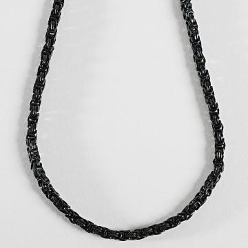 Black Needle - Collier Chaine BBN-400 Noir