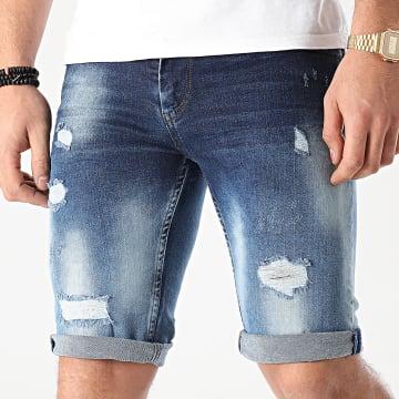 Classic Series - Short Jean 7203 Bleu Denim