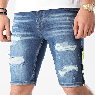 Classic Series - Short Jean DH-3118 Bleu Denim