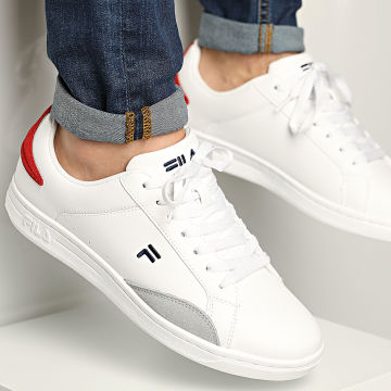 Fila - Baskets Courtstep Low 1011182 White Fila Red