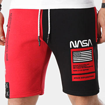 Final Club - Short Jogging Half Colors Limited Edition Noir Rouge