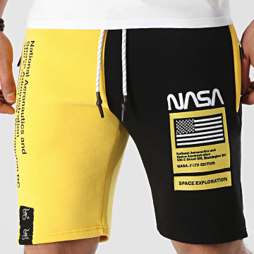 Final Club - Short Jogging Half Colors Limited Edition Noir Jaune