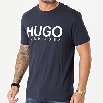 HUGO - Tee Shirt Dolive 50447980 Bleu Marine