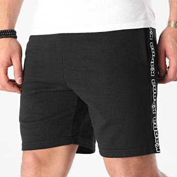 Kappa - Short Jogging A Bandes Isapo 311CPEW Noir