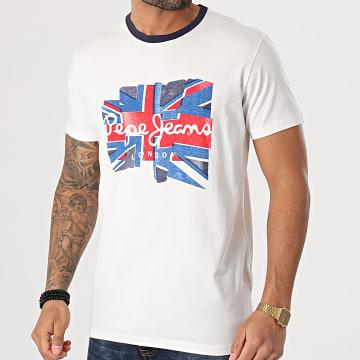 Pepe Jeans - Tee Shirt Donald PM507748 Ecru