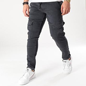 Pepe Jeans - Pantalon Cargo Jared PM2114202 Noir
