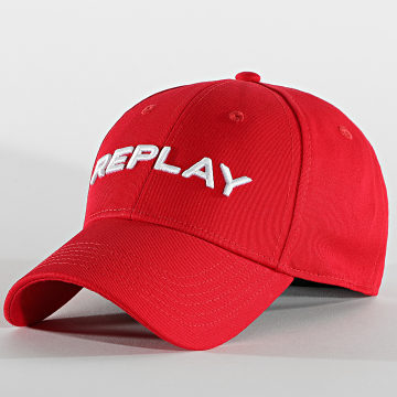 Replay - Casquette AX4161 Rouge