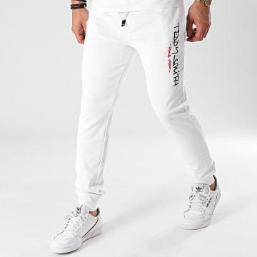 Teddy Smith - Pantalon Jogging 10115354D Blanc