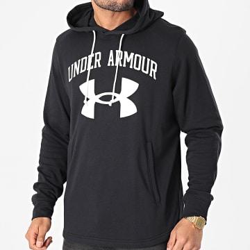 Under Armour - Sweat Capuche UA Rival Terry Big Logo 1361559 Bleu Marine