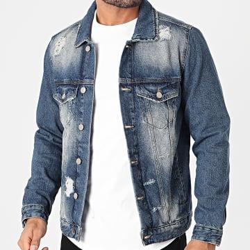 2Y Premium - Veste Jean B5564 Bleu Denim