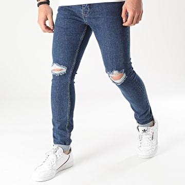 2Y Premium - Jean Skinny B5613 Bleu Denim